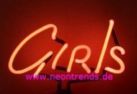 GIRLS Neonleuchte Neonreklame neon sign signs light Lamp news