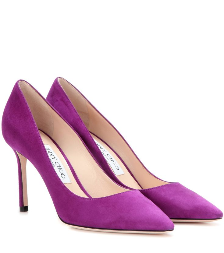 mytheresa.com - Romy 85 suede pumps - Luxury Fashion for Women / Designer  clothing