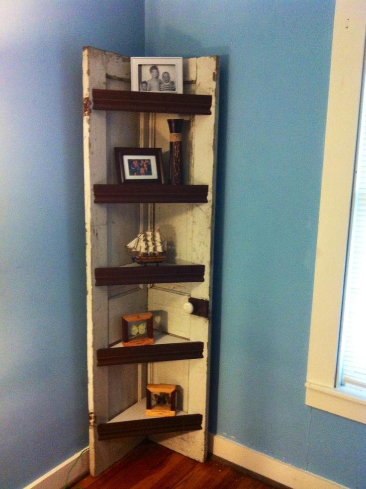 shelves old door 2