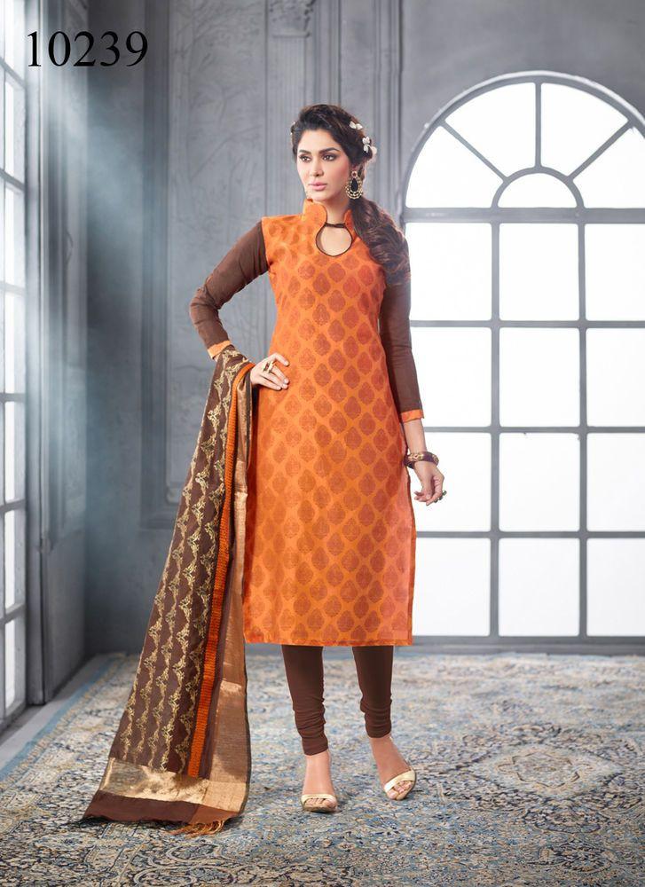 Designer Indian Suit Bollywood Kameez Salwar Pakistani Anarkali Ethnic Dress…