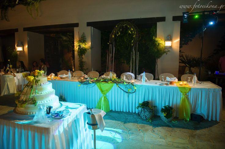 Lively couple & lovely wedding photos at Ionian Blue Spa Resort #Lefkas #Ionian #Greece #wedding #weddingdestination #weddingtable Eikona Lefkada Stavraka Kritikos