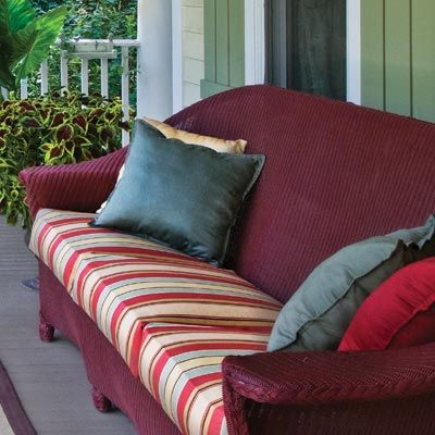 Resin wicker looks and feels like its traditional cousins but tends to cost less, and you can simply hose it down when it gets dirty.: This Old Houses, Boats Houses, Photo, Thisoldhouse With