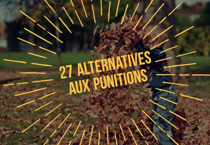 27 alternatives aux punitions