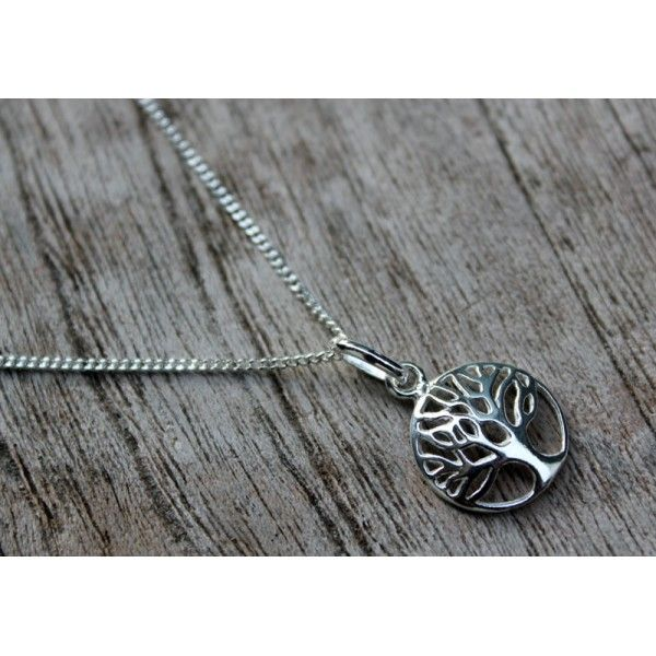 Tree of Life Round Pendant & Necklace - Jewellery Online