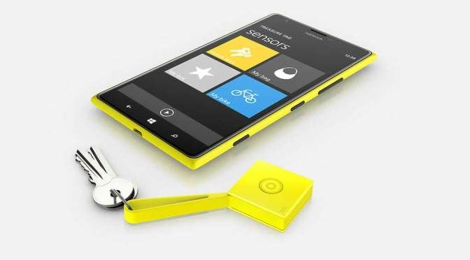 Innovative Nokia Lumia accessory ends the last minute search for your keys