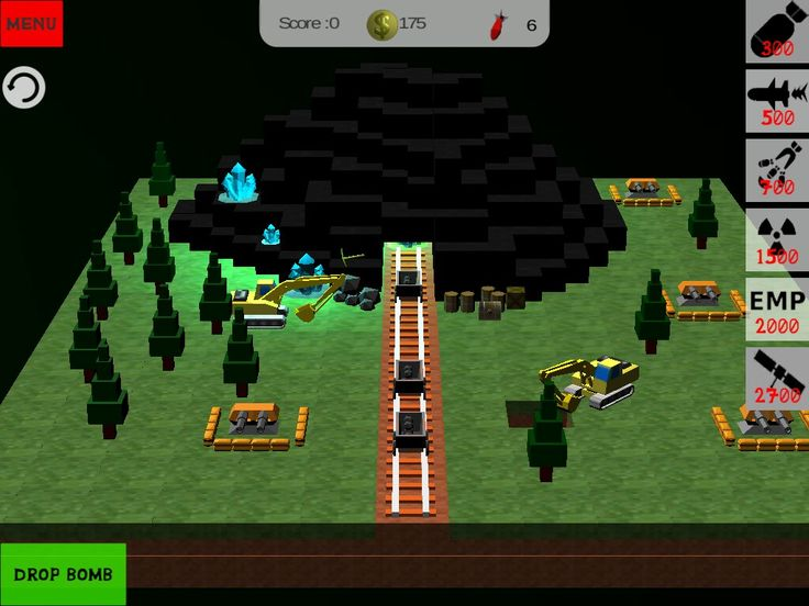 New level Mine in minecraft style game.