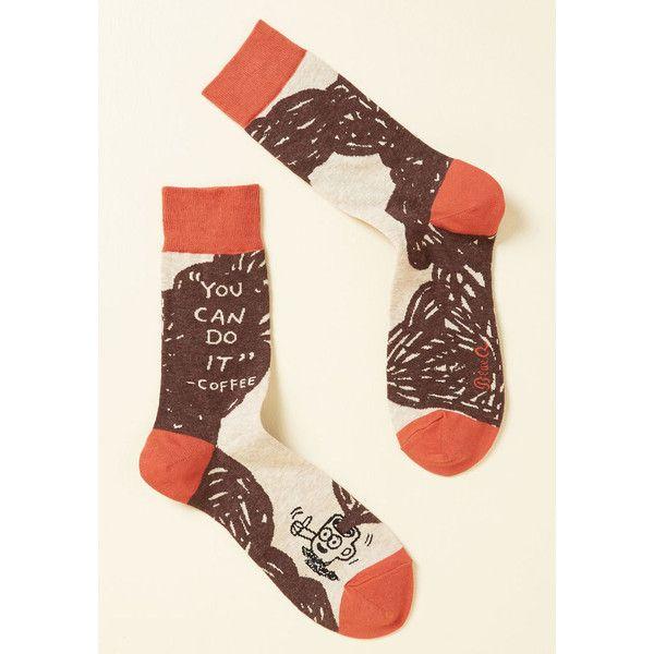 Joe, Team, Go! Men's Socks ($15) ❤ liked on Polyvore featuring men's fashion, men's clothing, men's socks, men, mens foundation, varies, mens socks, mens brown socks and mens orange socks