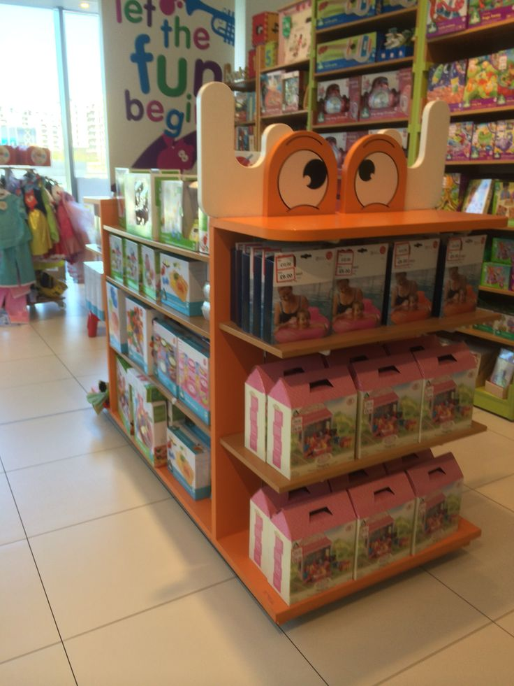 Early Learning Centre - Mothercare - Toys - Fixtures - Fun - Colour - Landscape - Layout - Visual Merchandising - www.clearretailgroup.eu