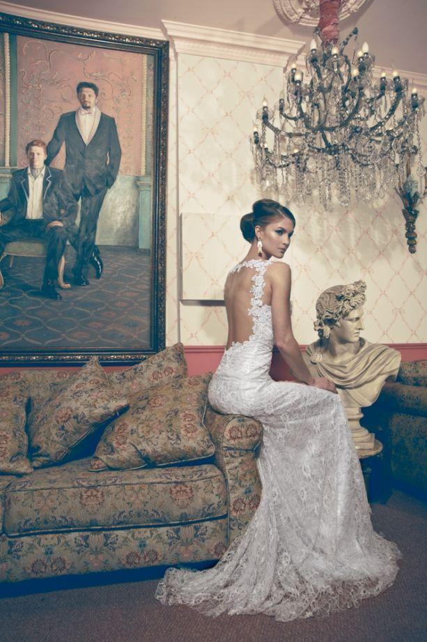 Glamorous Wedding Dresses For Your Wedding Day www.madamebridal.com