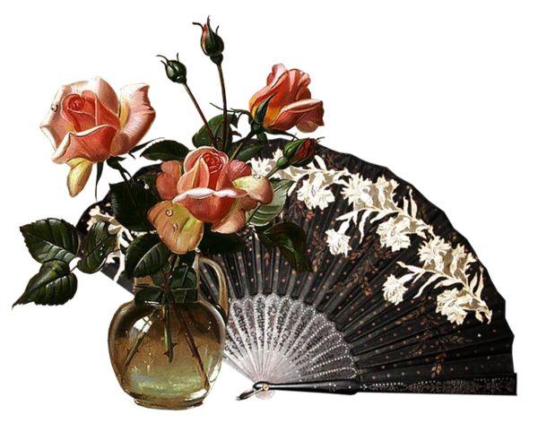 Фетр открытка, открытка веером с цветами