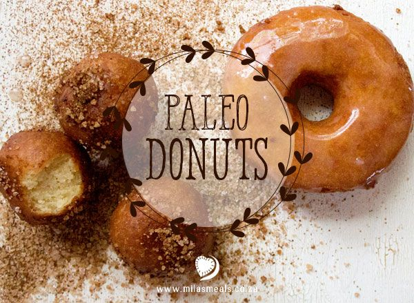 "Mila's Meals Paleo Doughnut Recipe.  Mila has been asking for doughnuts for going on 2 years now. She has seen them in the grocery store and, as with other ready-made food items, she picks them up, smells them (through the packaging), looks up at me and says ""Mama can you make these for me please?"" For 2 years have been saying that I would make her doughnuts and, finally, I have!"