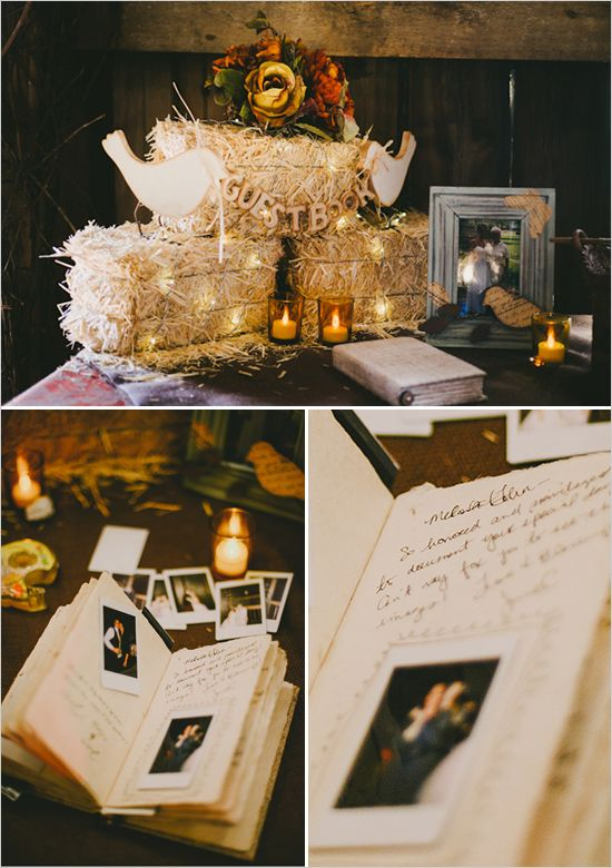 polaroid guest book ideas