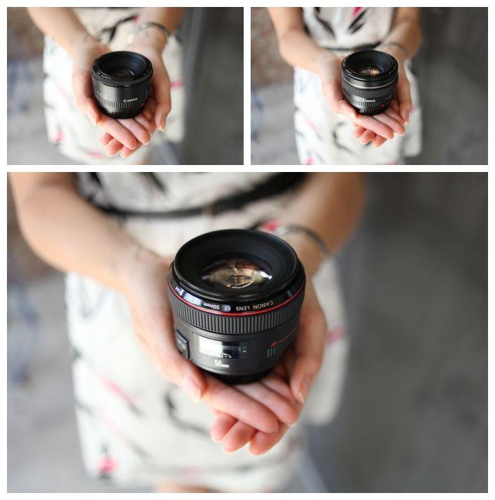 Canon 50 mm f/1.8, f/1.4, f/1.2 lenses
