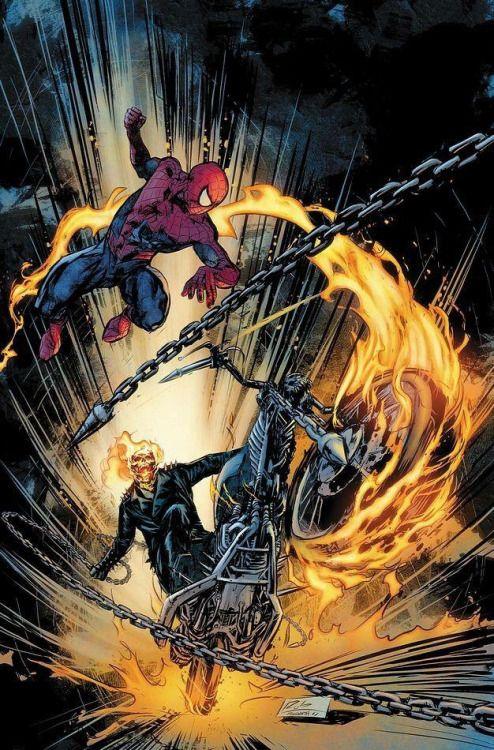 spiderman Ghost Rider
