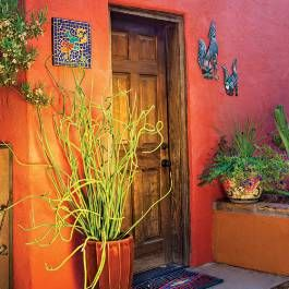 """Read more about this charming Tucson home in the January 2015 issue with """"Kicked Up Style"""". #phgmag"""