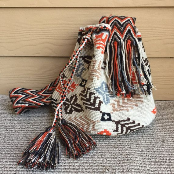 Wayuu Bag Handbag Purse Wayuu mochila bag от TobagoII на Etsy