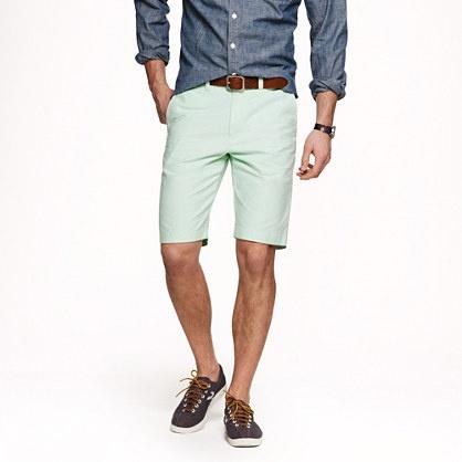 Cuffed men's shorts are a fun alternative to denim.