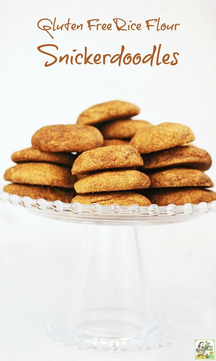 An easy to make gluten free snickerdoodles cookie recipe.