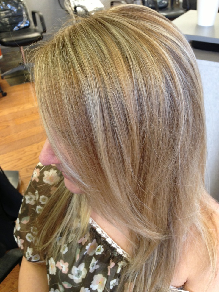 Warm high and low lights! | Hairbyjulia | Pinterest