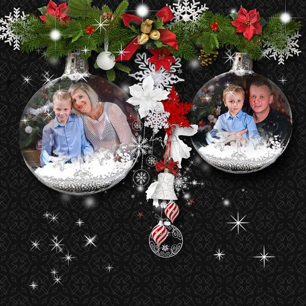 JIRSEV scrap*NOËL* BY ELYSCRAP   http://www.paradisescrap.com/…/13550-noel-full-pack-by-elys… cluster freebie *White Christmas* by Molemina Scrap