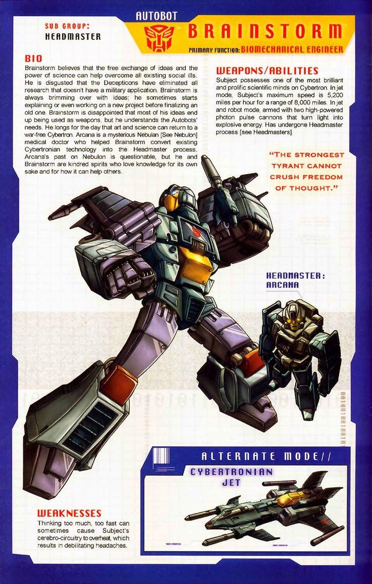 Transformer of the Day: Brainstorm