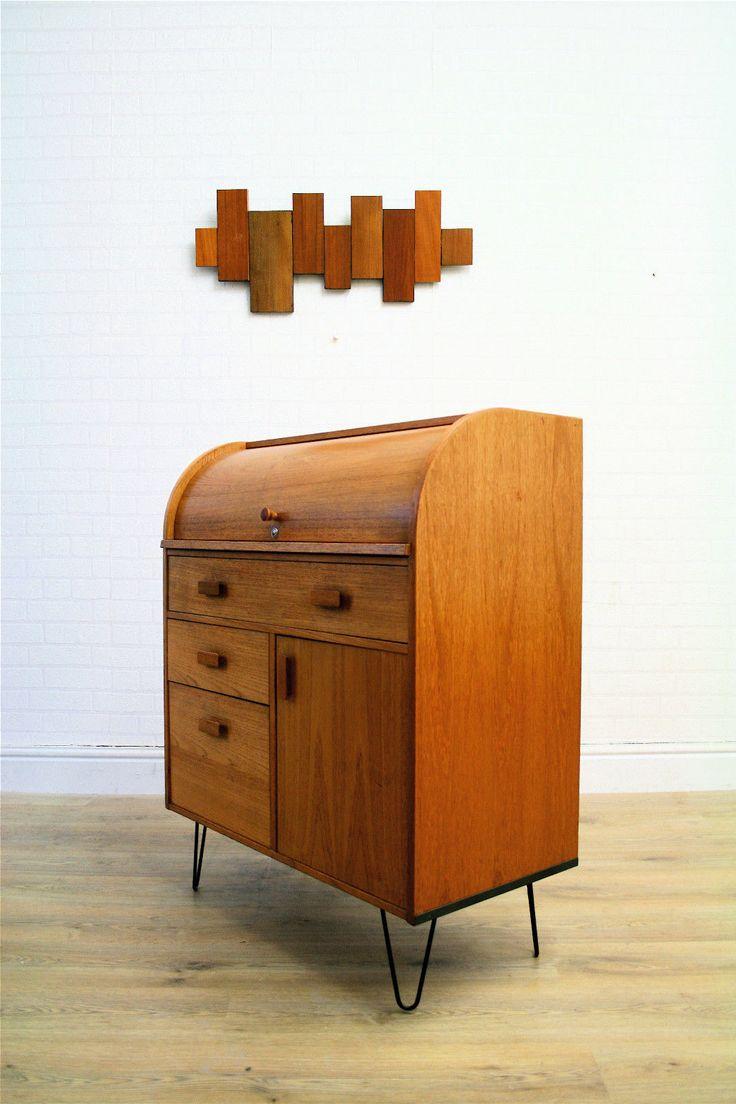 17 best images about furniture on pinterest industrial furniture and mid c - Bureau vintage industriel ...