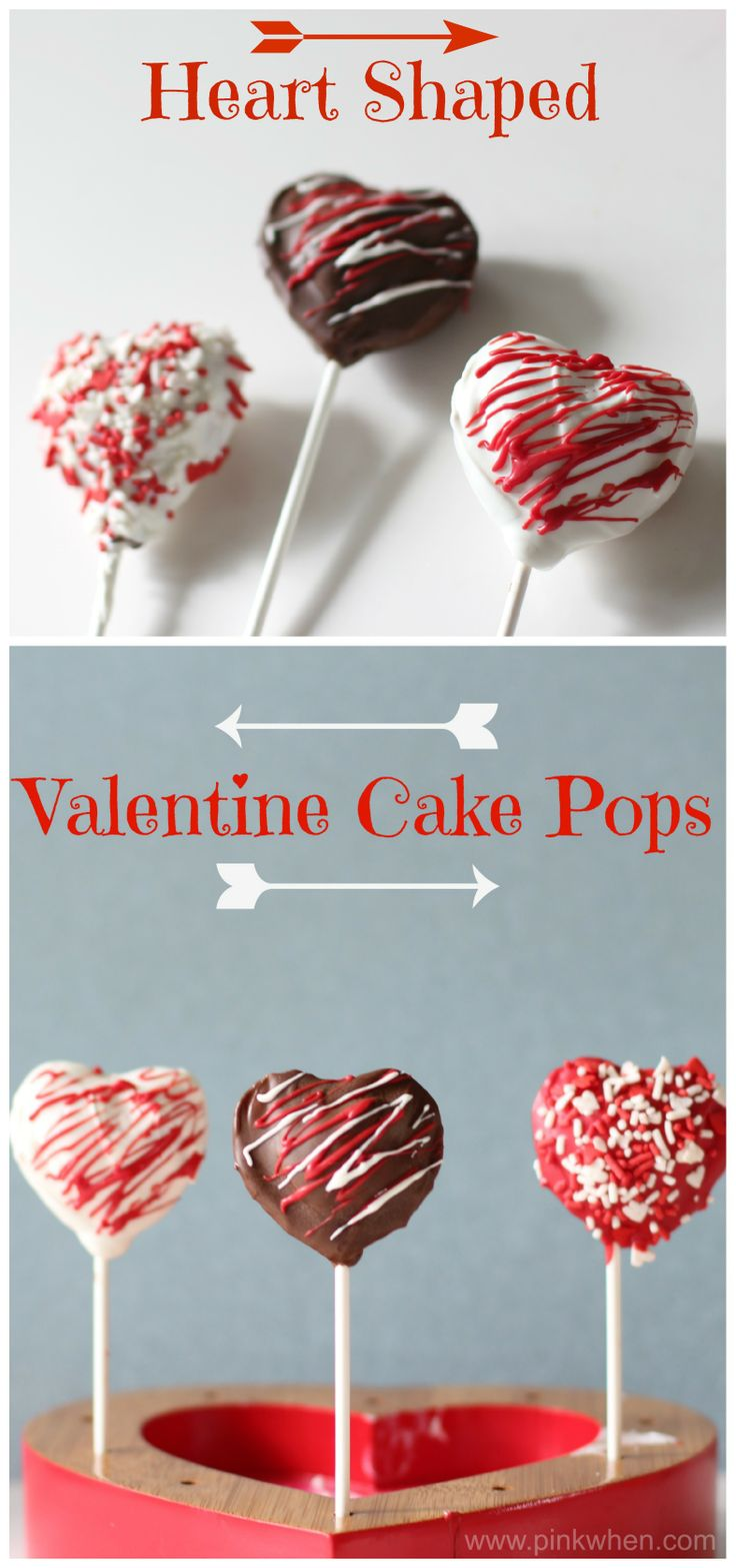 Fun little tutorial on these heart shaped cake pops, perfect sweet treats for the little ones!