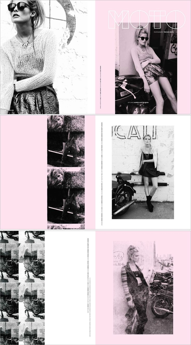 best ideas about fashion magazine layouts magazine layout for a duo tone style which im interested in doing