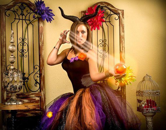Adult tutu dress adult witch tutu costume adult tutu by TutuHot, $130.00