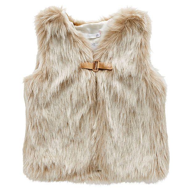 Artificial Fur Vest | Target Australia