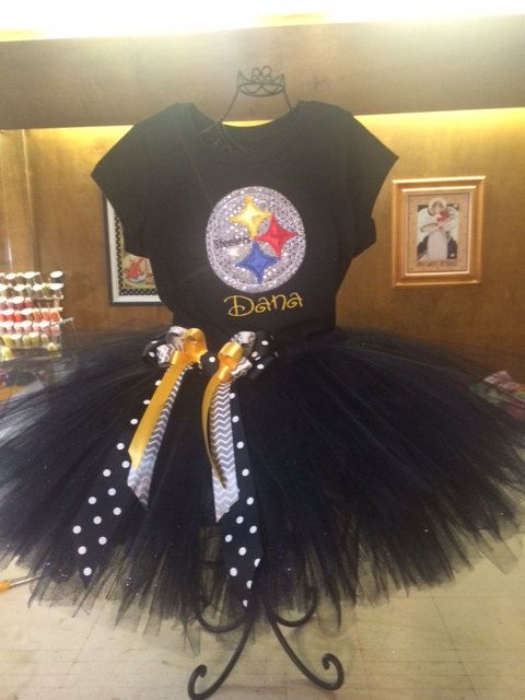 Pittsburgh Steelers Tutu Cheerleader Costume by SnappyGirls, $44.99
