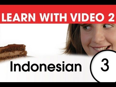 Learn Indonesian with Pictures and Video - Top 20 Indonesian