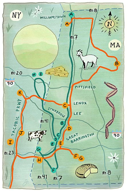 A Food Trail in The Berkshires