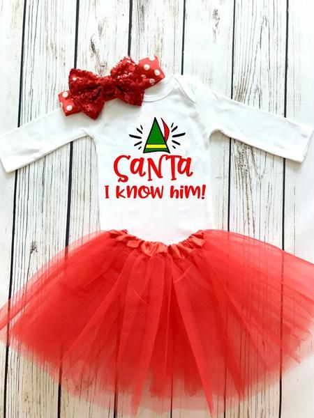 Santa, I Know Him! Christmas SVG DXF EPS PNG Cut File • Cricut • Silhouette