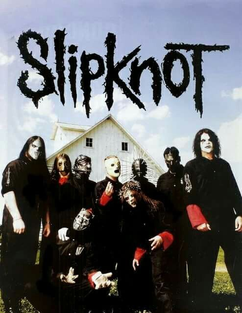 Slipknot love the background