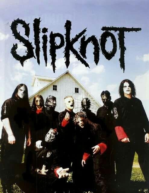 Slipknot love the background