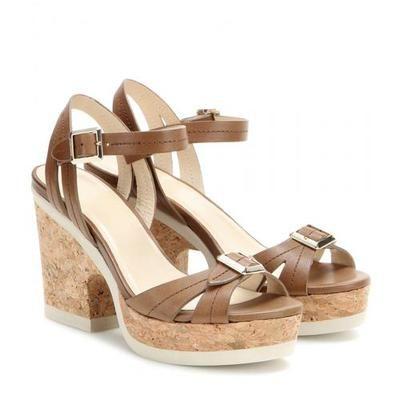 Jimmy Choo - Nemesis leather sandals #sandals #jimmychoo #designer www.ohmyoccasion.com #covetme