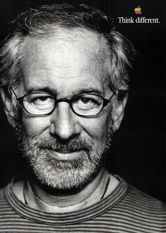 Steven Spielberg  Dec 18, 1946  1993 – Oscars for Best Film and Best Director for Schindler's List  There is a fine line between censorship and good taste and moral responsibility. #Apple #SteveJobs #iPhone #Macintosh #Woz #Museum #Prague #Czech #CzechRepublic #Europe #World #Travel #Think #Different