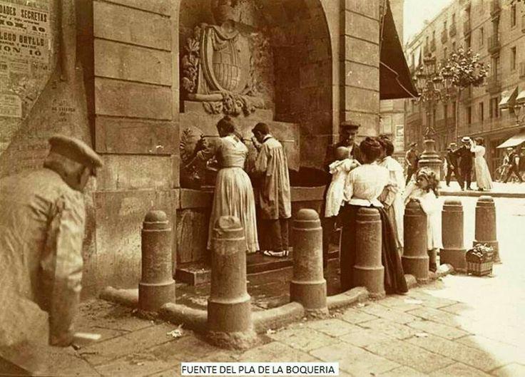 Font Pla de la Boqueria, Barcelona