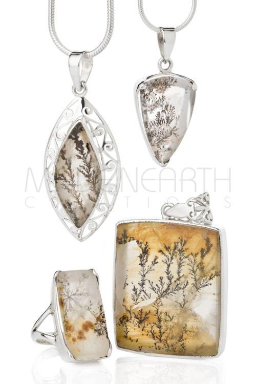 Dendritic Quartz… Crystal gardens of Manganese and Quartz!