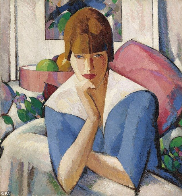John Duncan Fergusson's 'Poise', which dates back to 1916, sold for a record £638,500 at C...