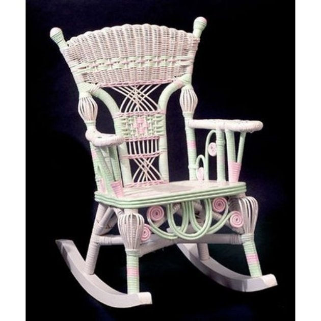 Millie Wicker Child Rocking Chair Childrens Chairs At