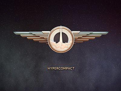 Hypercompact logo design - #logo -