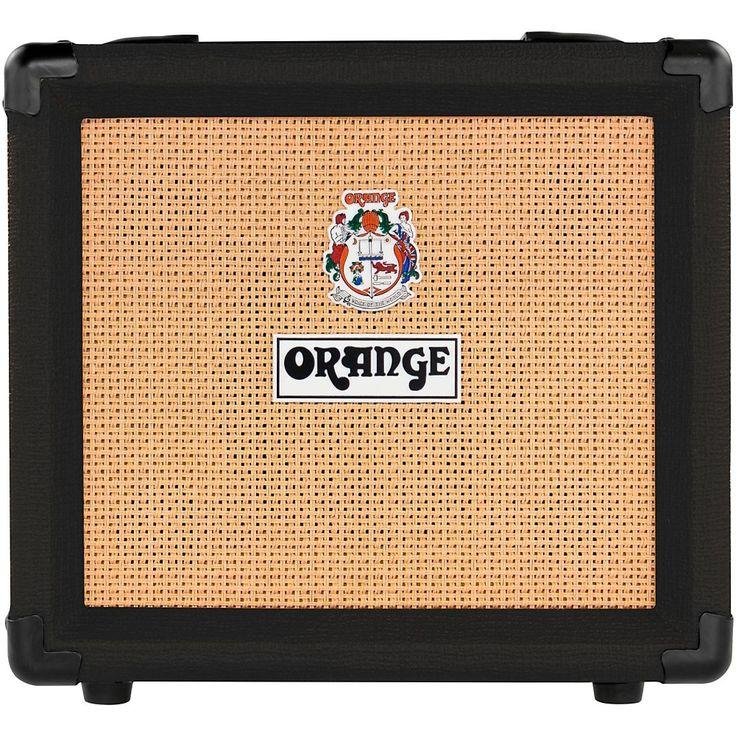 Orange Amplifiers Crush12 12W 1×6 Gitarren-Combo-Verstärker Schwarz   – Guitars and Amps