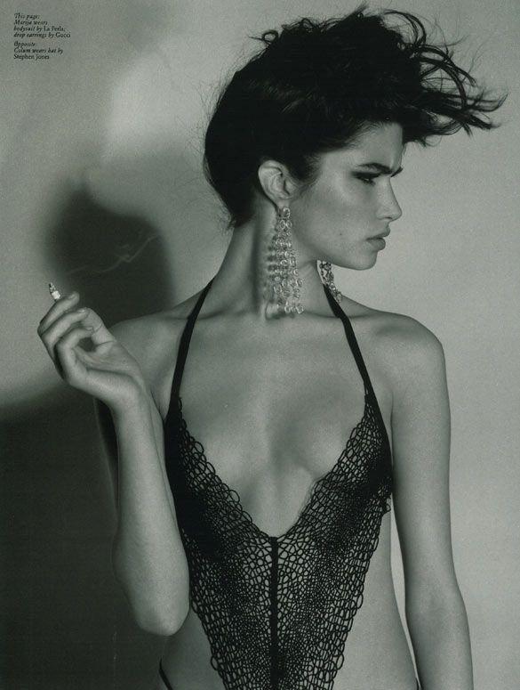 Marija Vujovic photographed by Alasdair McLellan
