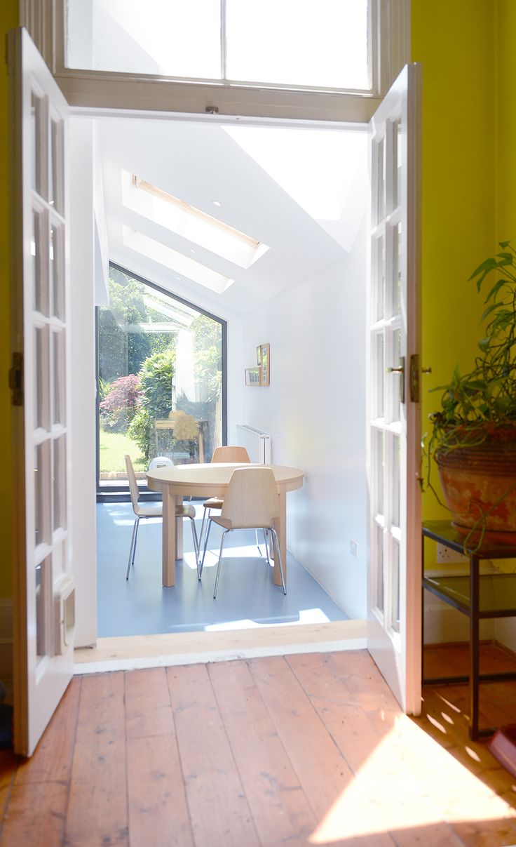 271 best Real UK home extensions images on Pinterest | Side return ...