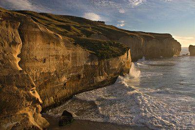 Tunnel Beach Cliffs, Dunedin