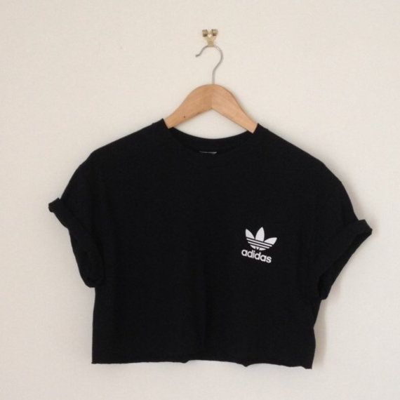 Cool swagstyle old skool adidas crop top by ILOVEPARADISEGARAGE