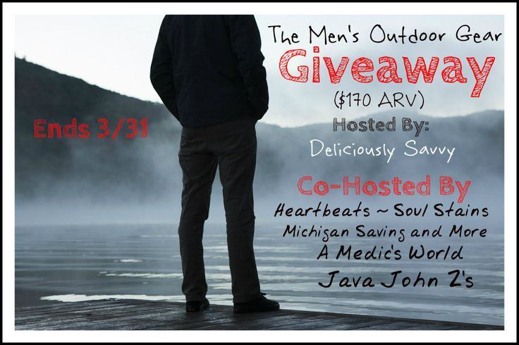 a day in the tangled skeins of my life: Men's Outdoor Gear Giveaway