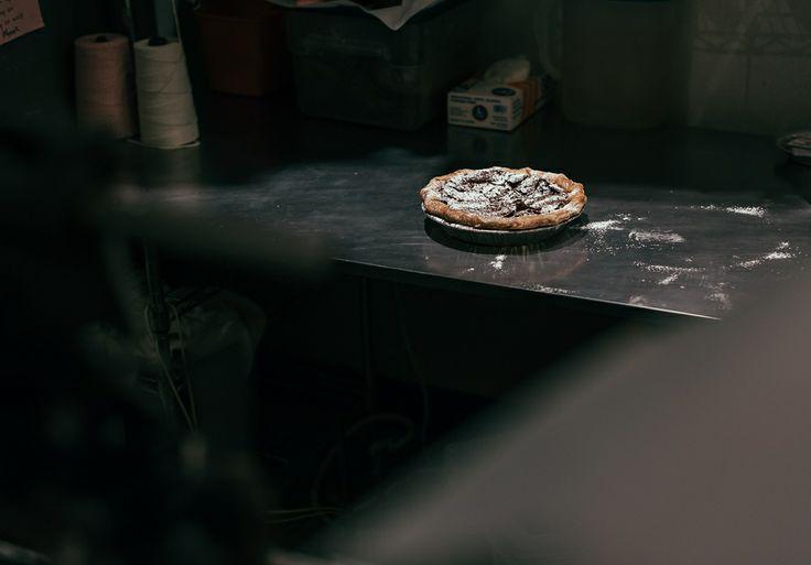 Pie Powdered Sugar Bakery Hoosier Mama © tru-studio.com